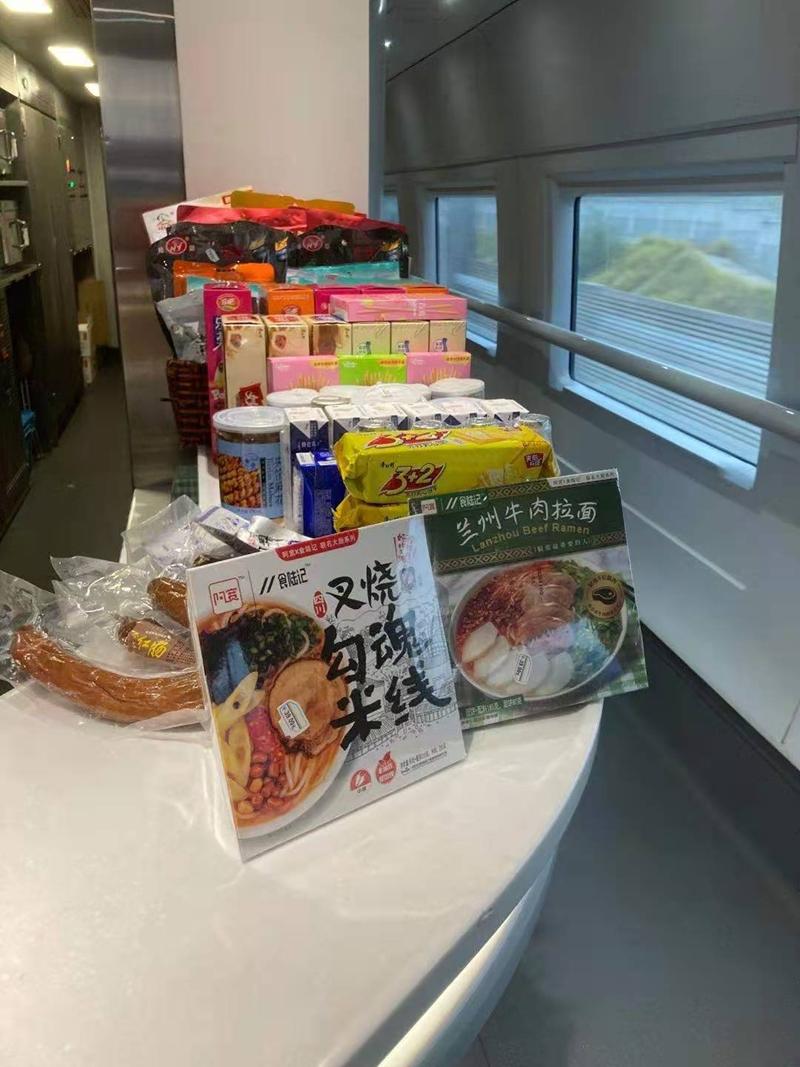 提升高铁车厢餐食体验,白家食品与食陆记达成战略合作
