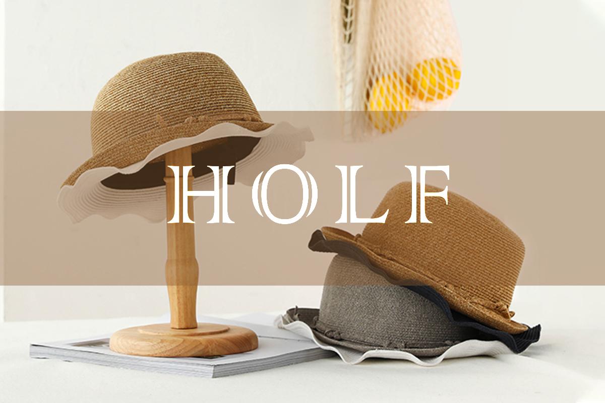 2021春夏,看HOLF哈夫草帽玩转潮流新时尚